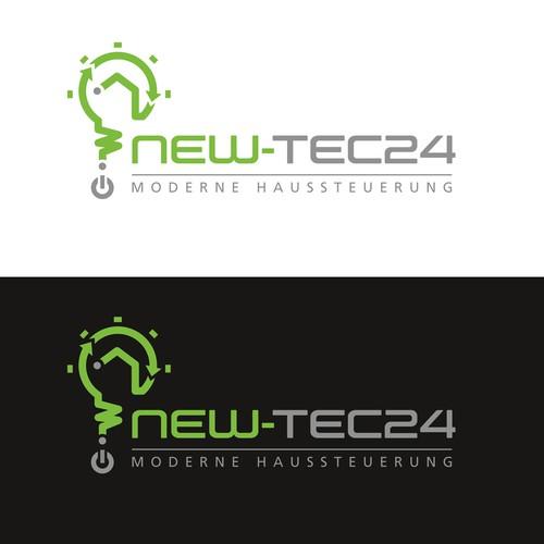 New-Tec24 - Logo das Hausbesitzern Sicherheit und Herrschaft über ihre Haustechnik vermittelt