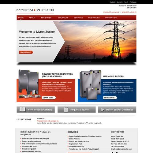Myron Zucker, Inc. needs a new website design