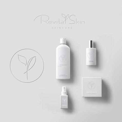 clean & elegant logo for Revital Skin
