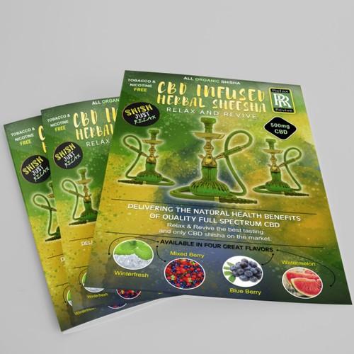 Hookah Flyer Design