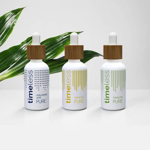 Cosmetic line bottle redesign