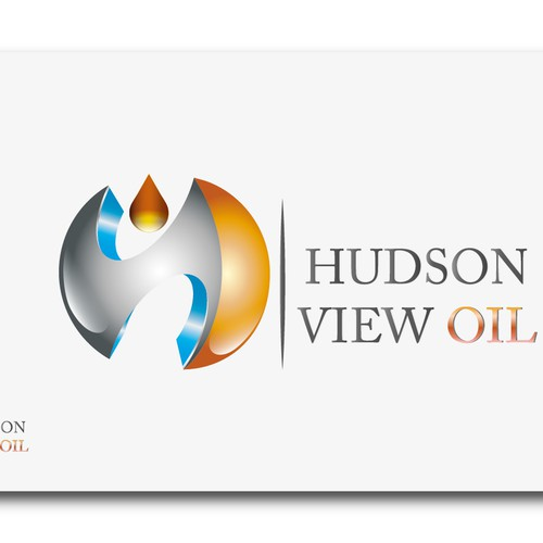 hudson valley ny state, heating oil delivery logo