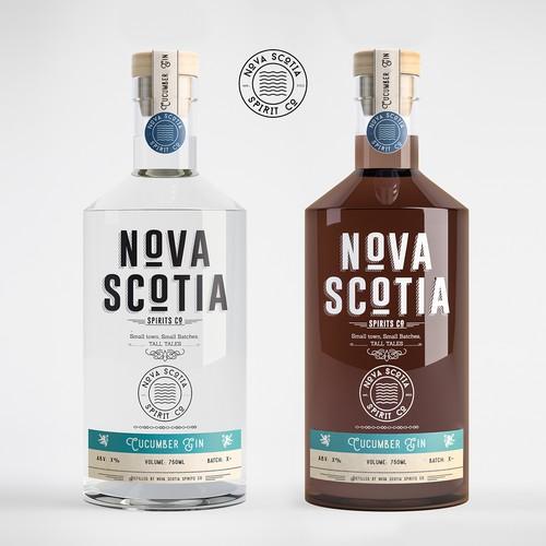 Nova Scotia craft spirit design