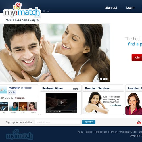Website Design - MyiMatch