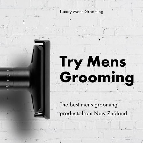 Mens Grooming Ad
