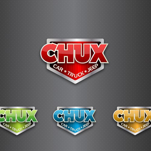 Help CHUX TRUX with a new logo