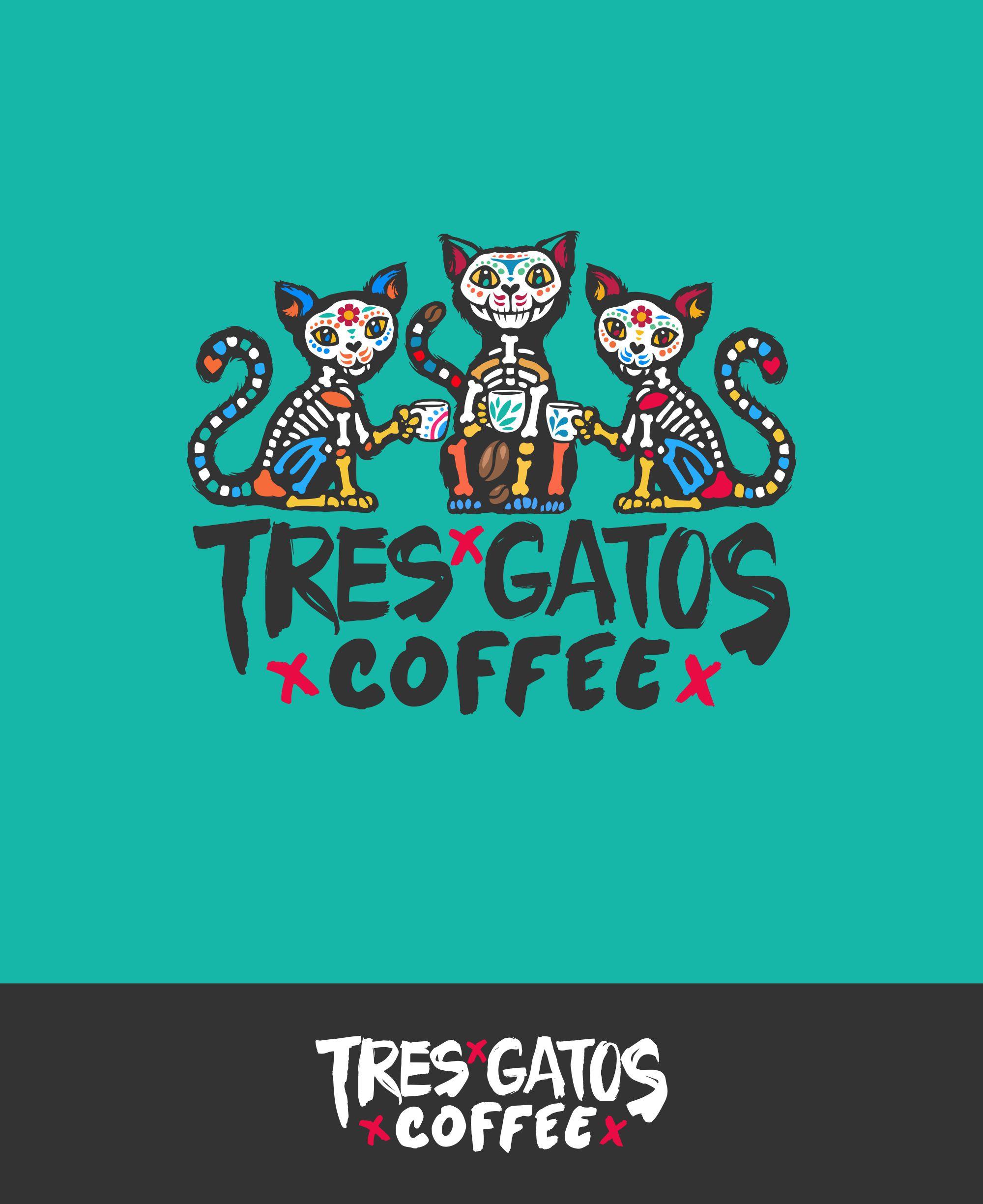 TRES GATOS COFFEE LOGO