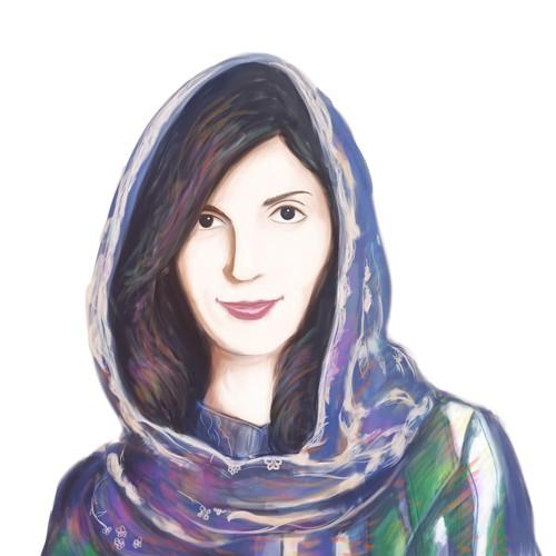 Rooya Portrait Digital Painting