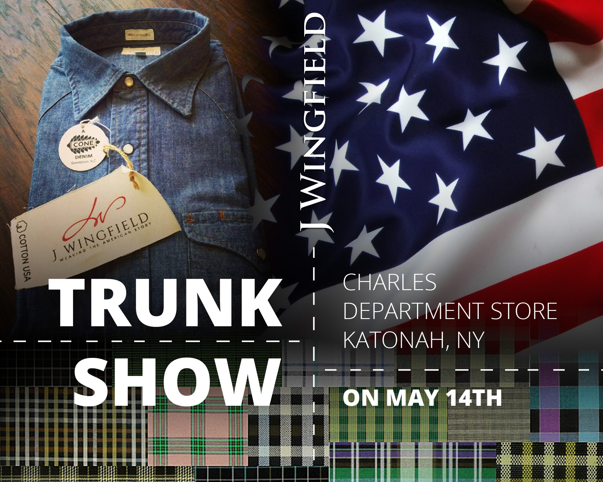 J Wingfield - Trunk Show Teaser Images
