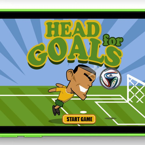 Soccer Game - Character Design, Title screen & in-game