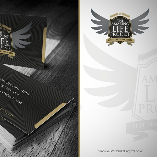 The Amazing Life Project - Logo and Business Card