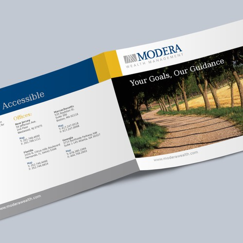Brochure design for Modera