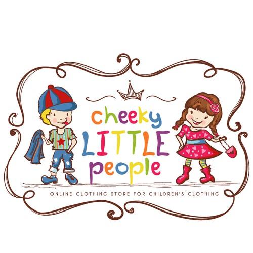 Playful vibrant Logo for Children's Clothing Brand