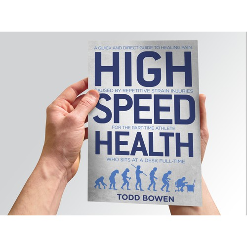 BOLD/SIMPLE/CLEAN book cover needed for HIGH SPEED HEALTH