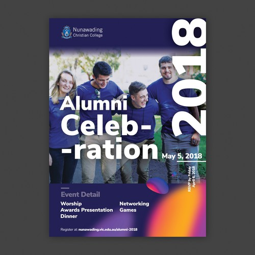 Poster design for Christian College