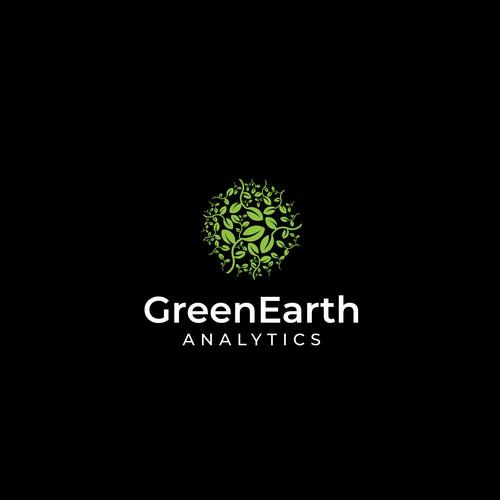 "Logo for ""GreenEarth Analytics"""