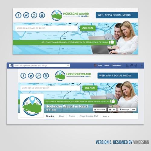 Facebook Cover for Hoeksche Waard in kaart