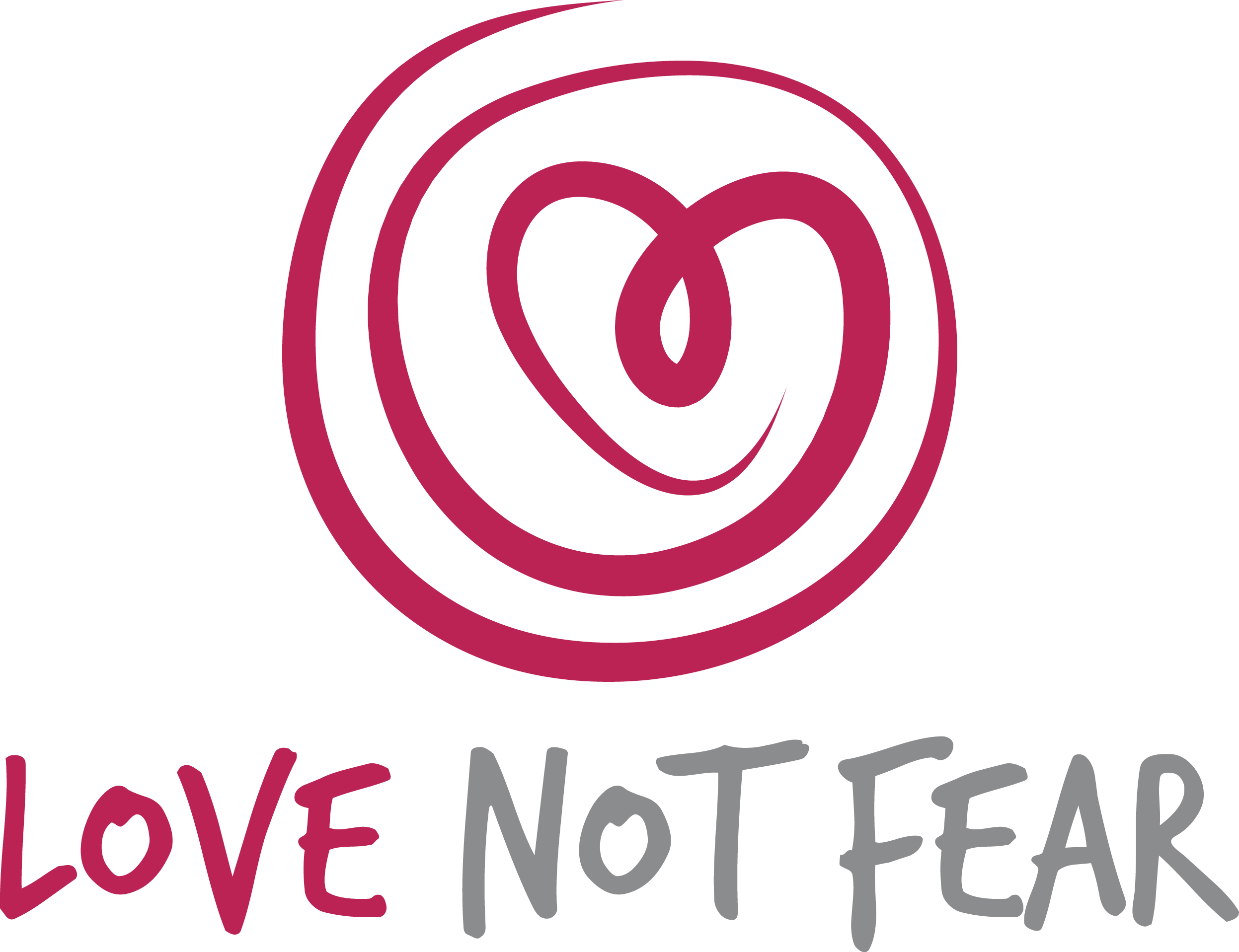 Design a logo for Love Not Fear