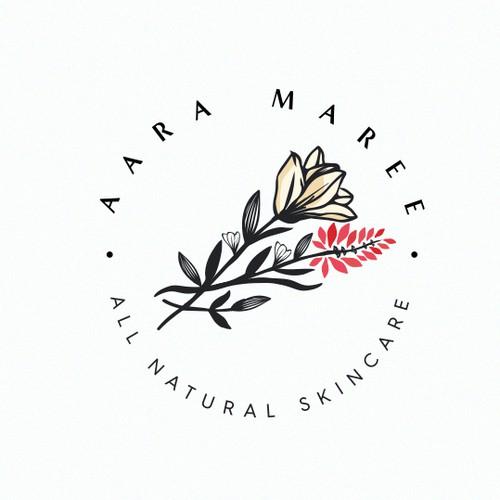 Feminine cosmetic logo
