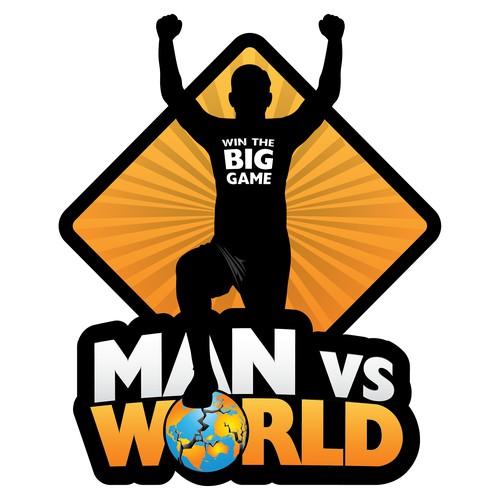 Bold, Action-Oriented Men's Challenge Logo