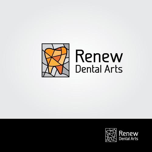 Logo for Renew Dental Arts