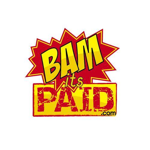 BAMitsPAID.com  logo concept