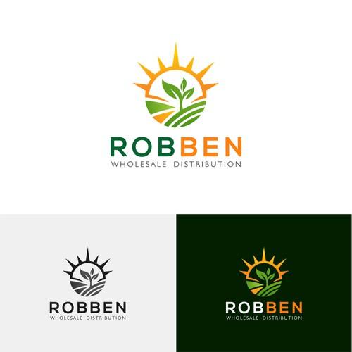 Logo concept for 'Robben Wholesale Distribution'