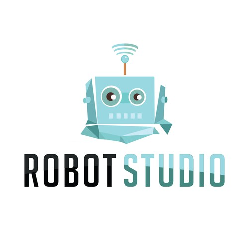 logo concept for RobotStudio