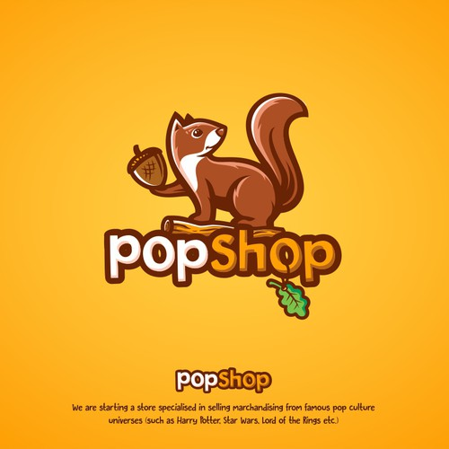 Logo for Pop Culture Shop