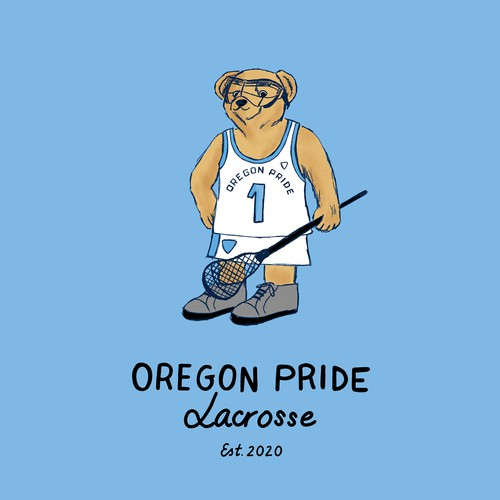 Teddy Oregon Pride Lacrosse