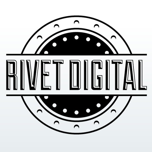 Rivet Digital logo design