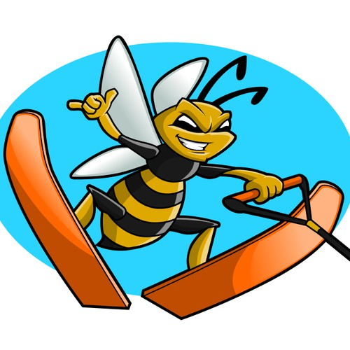 Skiing Bee