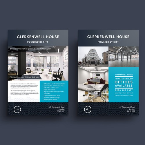 Clerkenwell House - Flyer Design