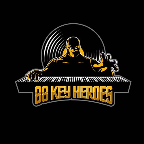 88 Key Heroes Logo