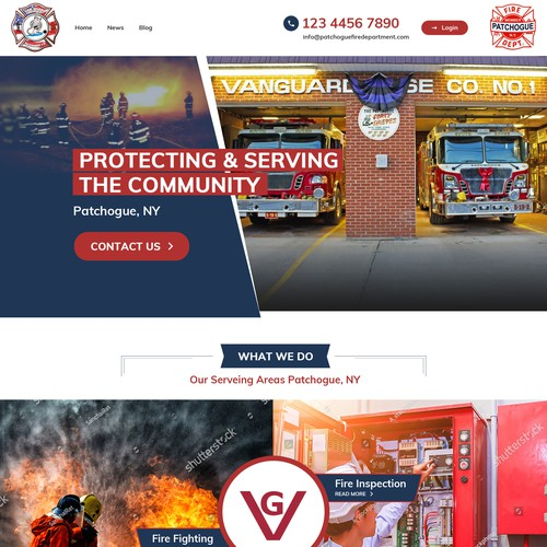 Van Guard Firehouse Website