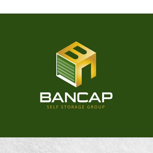 Bancap Self Storage Logo Concept
