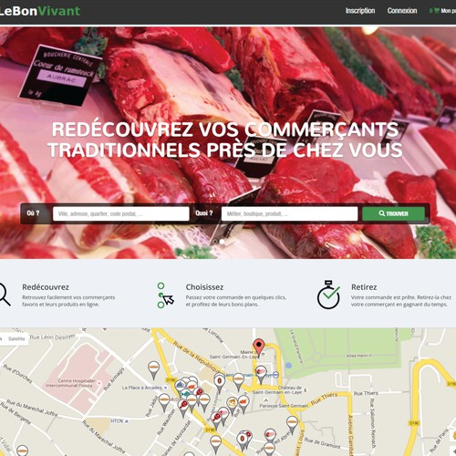 Online market icons