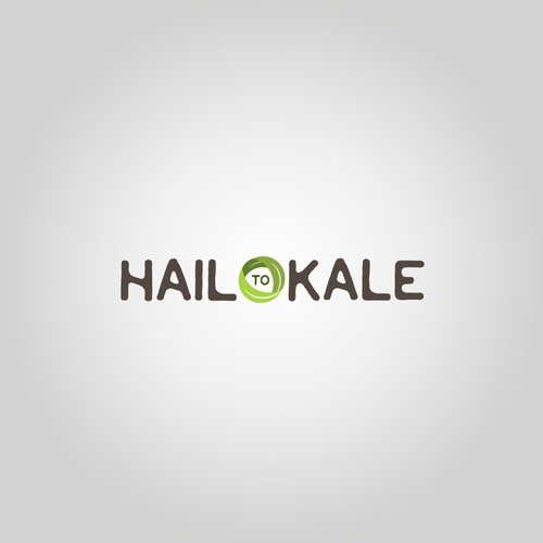 Hail to Kale logo