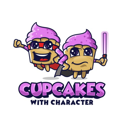 CUPCAKES WITH CHARACTER