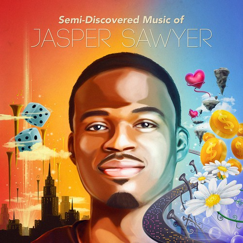 Cover concept for Jasper Sawyer