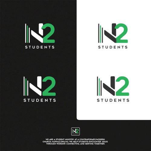 N2 logo design