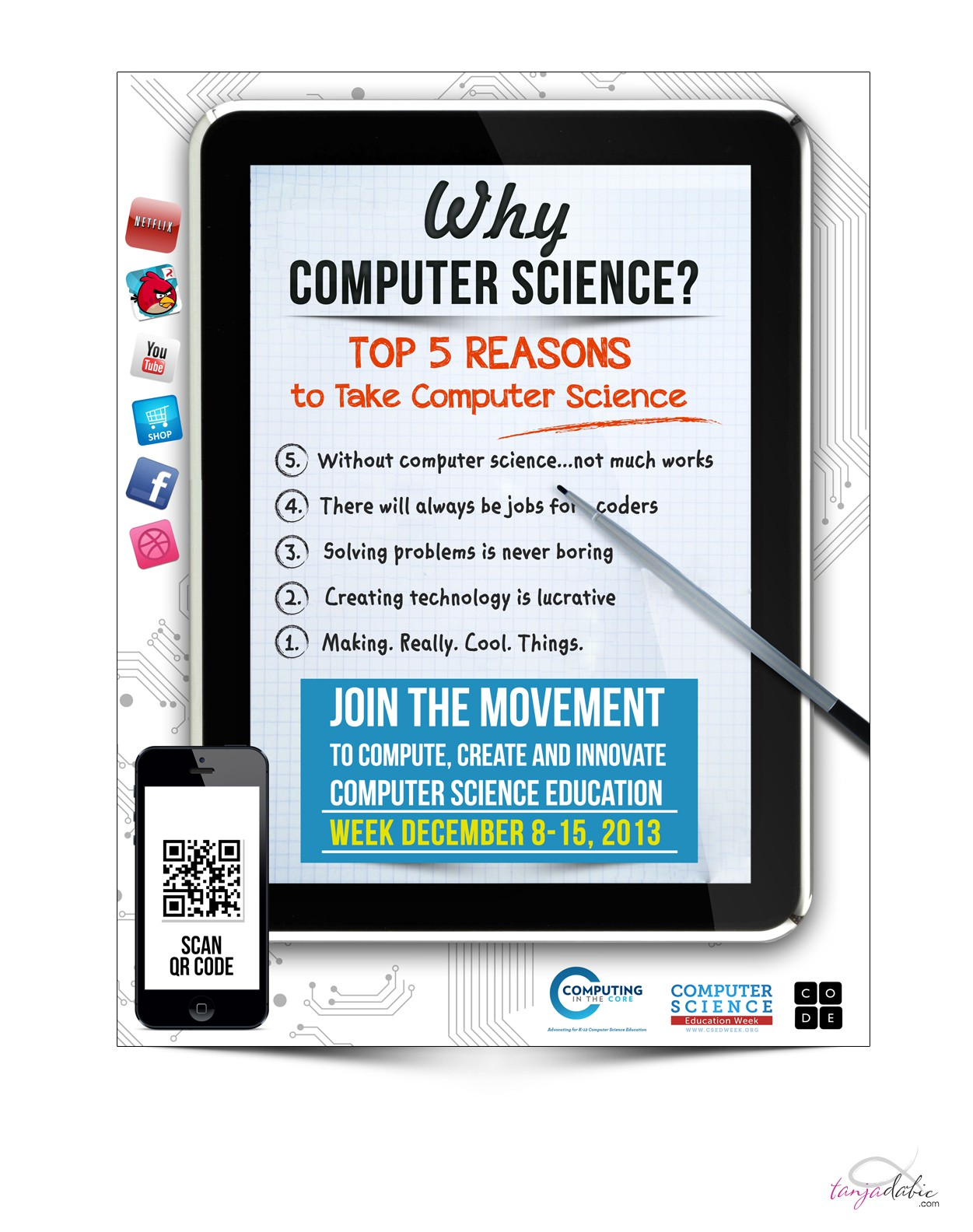 New signage wanted for Computer Science Education Week
