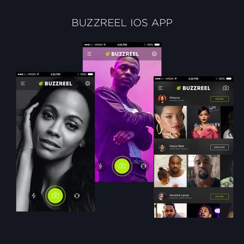 Buzzreel IOS APP