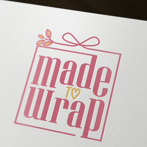 Logo for a wrapping paper