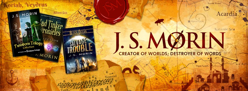 Author brand visuals, starting with a Facebook cover