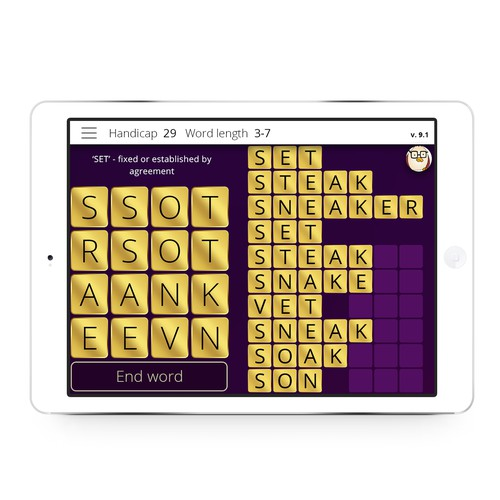 WordZap - Game Classic with Millions of Users Now on iOS