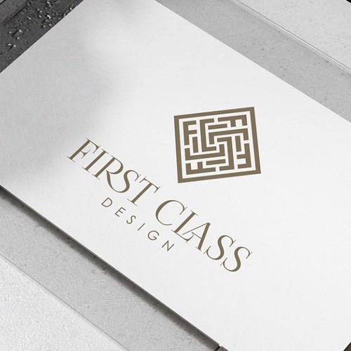Logo for First Class Design