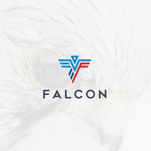 Clean monoline Falcon for Falcon Company