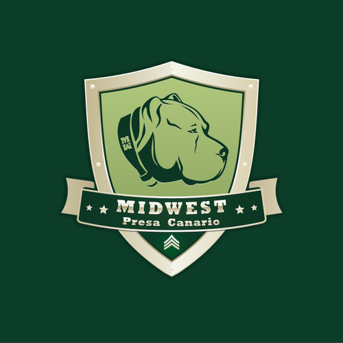 Create a logo for Mid West Presa Canario Kennels.