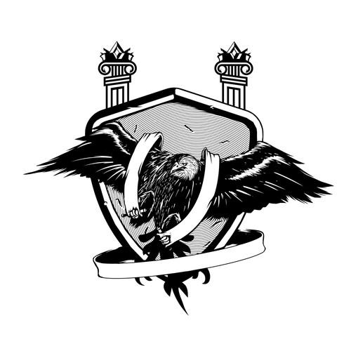Bold Ilustration Eagle
